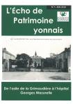 L'Écho du Patrimoine yonnais n° 7 (Mai 2018)